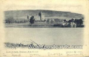 Scotland, Escocia Stranraer from the Loch Lochinch Castle Stranraer from the ...