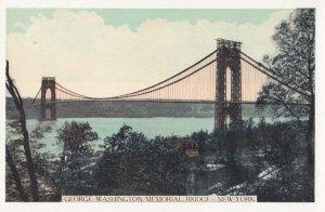 NEW YORK CITY , 1930s ; George Washington Bridge