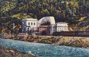 VALAIS, Switzerland, 1900-1910s; Brigue Et Le Rhone, Les Tunnels du Simpion