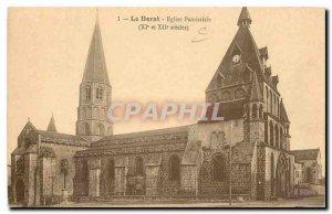 Old Postcard Dorat Parish Church