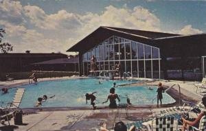 Thermally heated indoor/outdoor pool, Rheasant Run, St. Charles, Illinois, 40...
