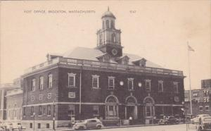 Massachusetts Brockton Post Office