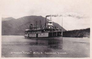 YUKON, Canada, 1900-10s; Steamer TUTSHI