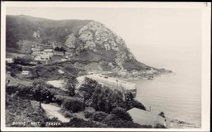 channel islands, JERSEY, Panorama Bonne Nuit (1940s) RPPC