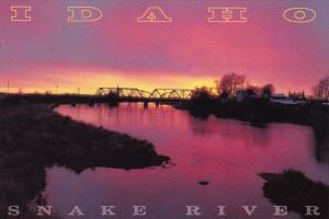 Snake River Sunset Snake River Idaho
