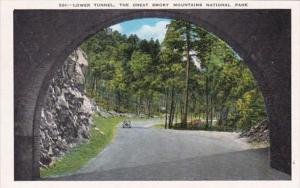 Great Smoky Mountains National Park Lower Tunnel