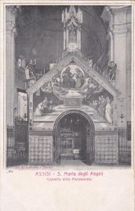 Cappella Della Porziuncola, S. Maria Degli Angeli, ASSISI (Umbria), Italy, 19...