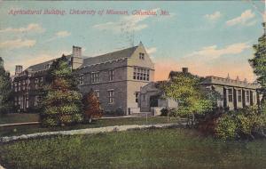 Agricultural Building , University of Missouri , Columbia , Missouri , PU-1910