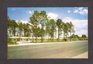 FL Temple Motel Carl Johns Owner North Starke Florida Postcard