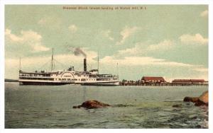 Rhode island   Watch Hill ,   Steamer Block Island  landing