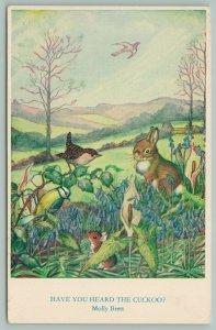 Molly Brett Fantasy~Have You Heard The Cuckoo?~Rabbit~Mouse~Blue Jay~Bird~Listen