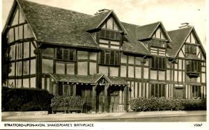 UK - England. Stratford-Upon-Avon. Shakespeare's Birthplace - RPPC