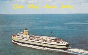 Cape May [N.J.] to LEWES , Delaware , Ferry , 50-60s