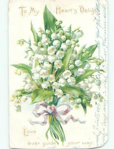 Divided-Back BEAUTIFUL FLOWERS SCENE Great Postcard AA3201