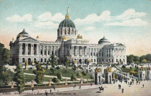 HARRISBURG, PA , 1900-10s; Pennslvania's New Capitol