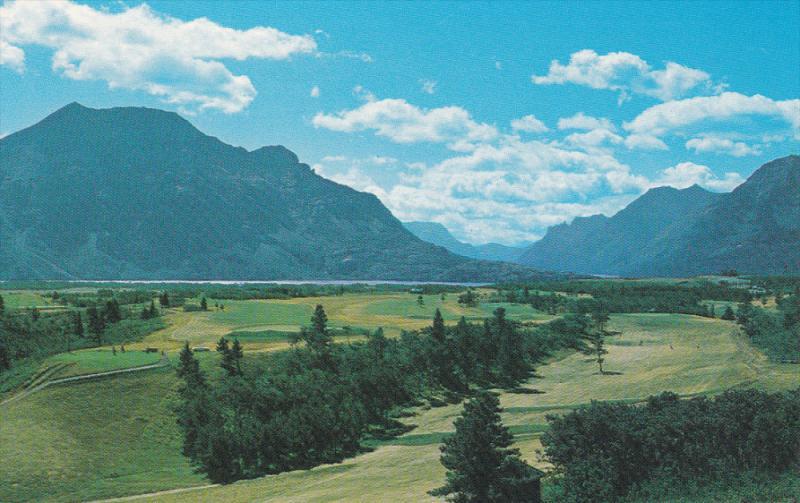 Golf Course , Waterton Lakes National Park , Alberta , Canada , 50-60s