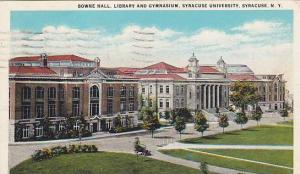 Bowne Hall, Library & Gymnasium, Syracuse University, Syracuse, New York, PU-...