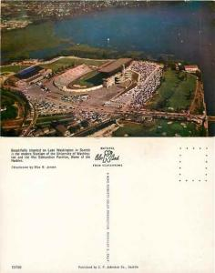 Football Stadium & Paviliion, University of Washington, Seattle, WA, Chrome