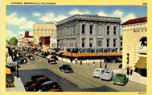 CA - Marysville. D Street
