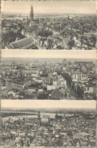 Belgium Antwerpen Verschillende Panoramas der Stad 02.16