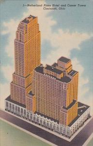 Ohio Cincinnati Netherland Plaza Hotel and Carew Tower Curteich