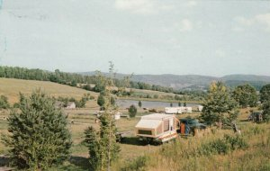 In The Heartland of VERMONT, 1950; Lake Champagne Campground