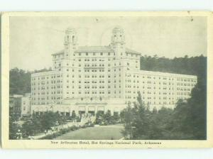 1940's NEWLY BUILT ARLINGTON HOTEL Hot Springs National Park Arkansas AR HQ5624