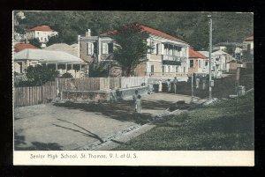 4812 - USVI Virgin Islands St Thomas Senior High School 1920s