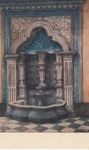 MEXICO CITY, Mexico, 1900-10s; Colonial Fountain in the House of Tiles
