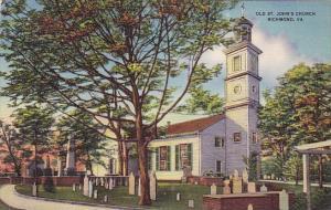 Old Saint Johns Church Richmond Virginia
