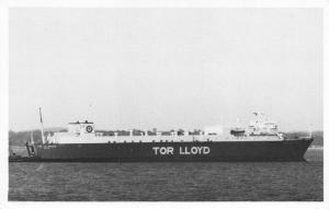 Postcard 1983 MV Tor Caledonia Ro-ro Cargo by The Falklands Collection