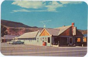 Sage Motel, Dubois, Wyoming, WY, Chrome