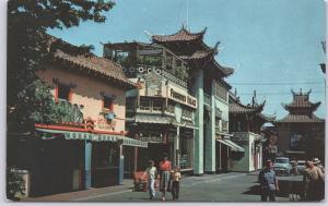 Los Angeles, CA., China Town -