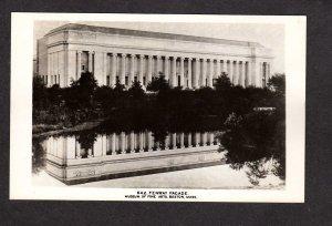 MA Museum of Fine Arts Real Photo Postcard RPPC RP Boston Mass Massachusetts