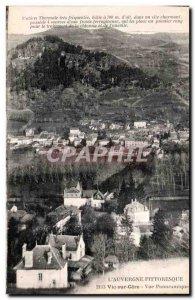 Postcard The Old Vic sur Cere Auvergne Picturesque Panoramic