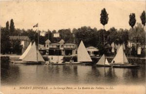 CPA NOGENT-JOINVILLE - Le Garage Perré - La Retrée des Voiliers (659428)