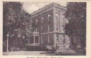 Indiana Marion Teter Hall Marion College Albertype