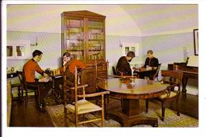 Military Officers Playing Chess Game Old Fort Henry Interior, Kingston Ontario