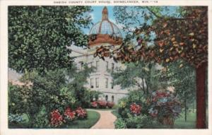 Wisconsin Rhinelander Oneida County Court House