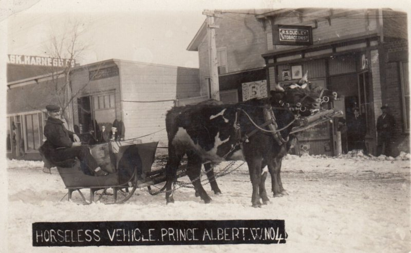 RP: PRINCE ALBERT , Sask., Canada , 00-10s ; Horseless Vehicle
