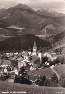 Austria Mariazell mit den Zellerhuetten Real Photo