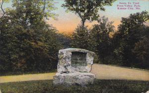 Missouri Kansas City Santa Fe Trail Penn Valley Park 1911