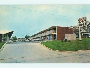 Unused Pre-1980 OLD CARS & COUNTRY SQUIRE MOTEL Winchester Kentucky KY u0418