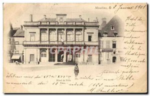 Postcard Old Mills City Hall