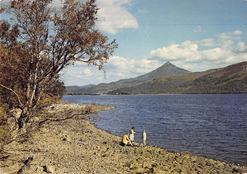 BR76442 schiehallion from the shore loch rannoch pertshire scotland