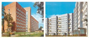 Postcard Riga Latvia state maternity
