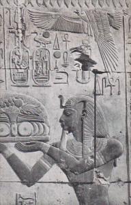 Egypt Luxor Karnak Seti I Offering To The Gods Of The Temple