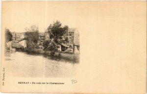 CPA BERNAY - Un coin sur la Charentonne (478148)