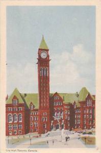 City Hall, Toronto, Ontario, Canada, 1930-1940s