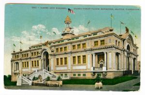 1909 PPC Alaska Yukon Pacific Exposition, Fort Steilacoom to Seattle, Washington